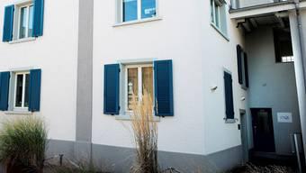Geschäftsstelle der Sterbehilfeorganisation Exit an der Hauptstrasse in Binningen BL.