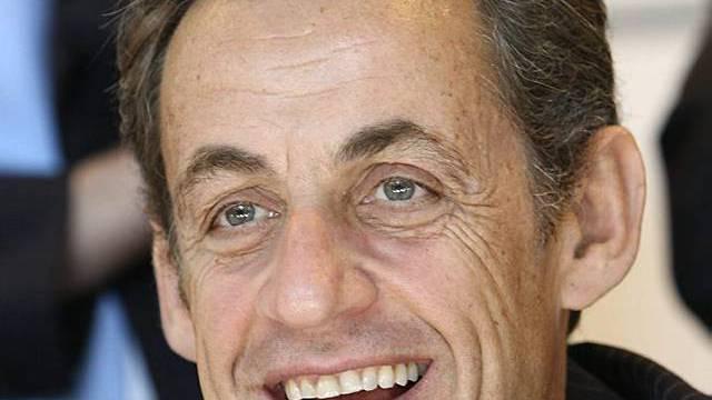 Frankreichs Präsident Nicolas Sarkozy