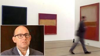 Blick in die Ausstellung Mark Rothko in der Fondation Beyeler von 2001, die Oliver Wick kuratiert hatte..jpg
