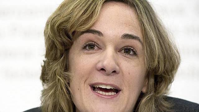 Ursula Wyss bezeichnet sich als sehr glücklich