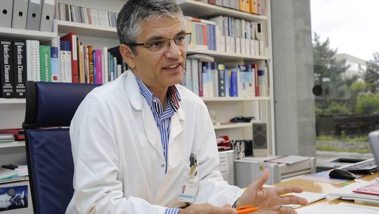 Manuel Battegay kandidiert als Präsident der Israelitischen Gemeinde Basel.