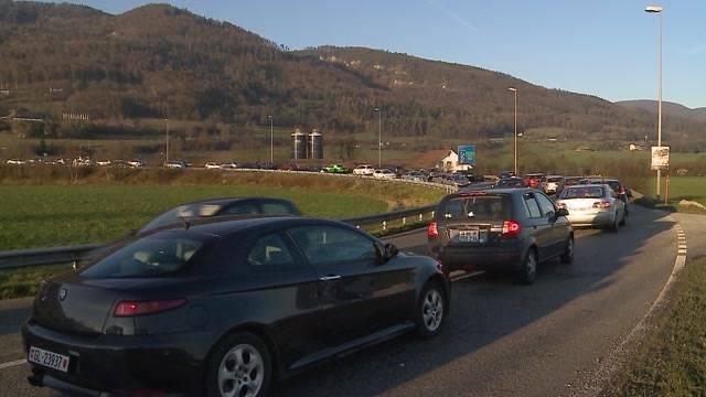Verkehrschaos wegen Gäupark-Ansturm