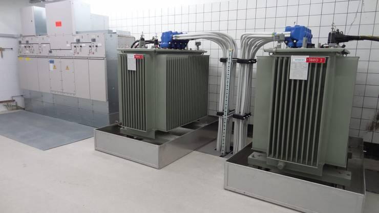 Transformatoren für die Stromversorgung