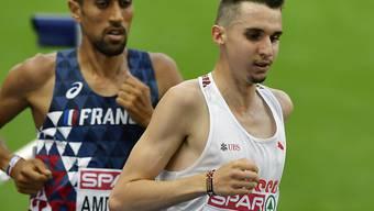 Nach der Strasse wieder die Bahn im Visier: Julien Wanders hier an der Leichtathletik-EM 2018 in Berlin