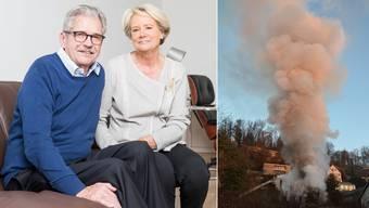 Boutelliers haben nach Brand ihres Einfamilienhauses in Brugg ein neues Zuhause