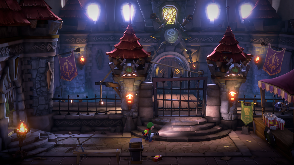 Luigis Mansion 3 - Gameplay