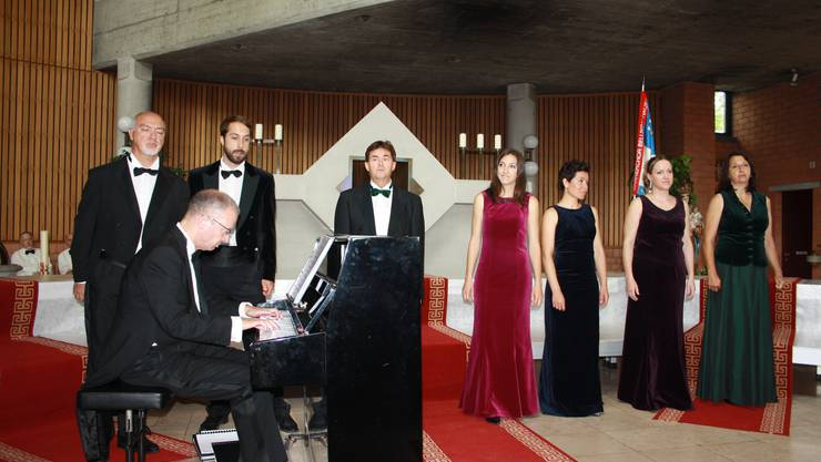 La Compagnia Rossini begeistert an der Matinée die Festbesucher