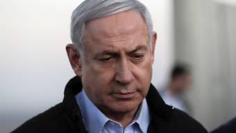 Steht unter Korruptionsanklage: Israels Ministerpräsident Benjamin Netanjahu (Archivbild)