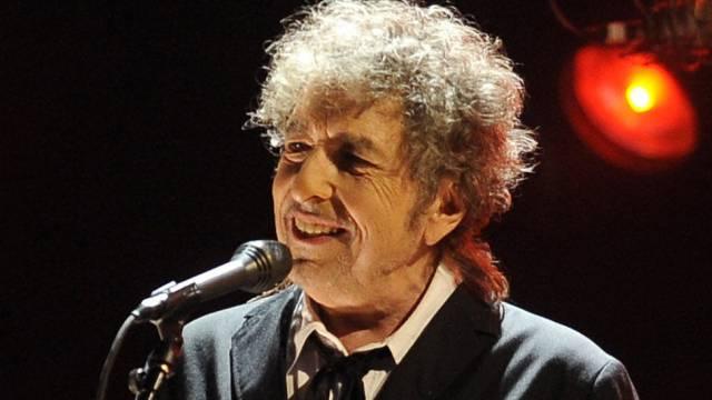 Bob Dylan während eines Konzertes 2012 in Los Angeles
