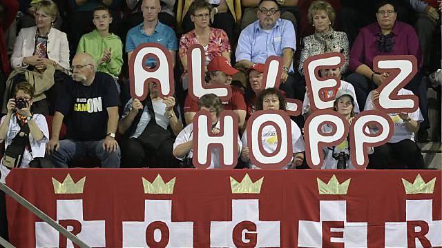 Liebling der Fans in aller Welt: Roger Federer