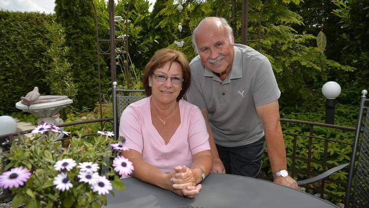 Lilo und Othmar Dellsperger haben nun mehr Zeit für den eigenen Garten.