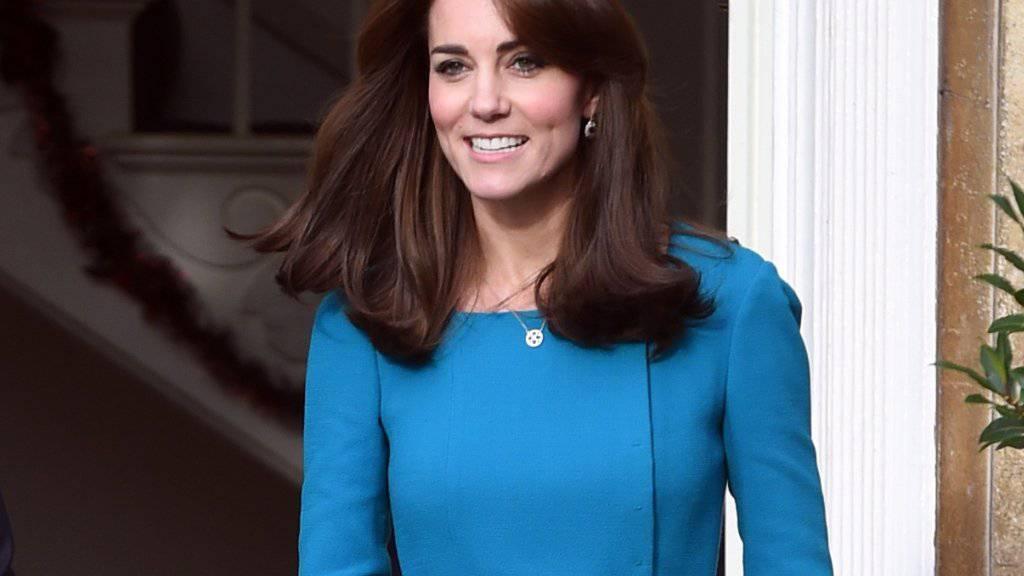 Herzogin Kate besucht öfters soziale Institutionen.