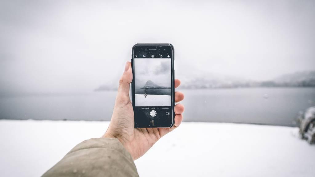 Smartphones in der Kälte