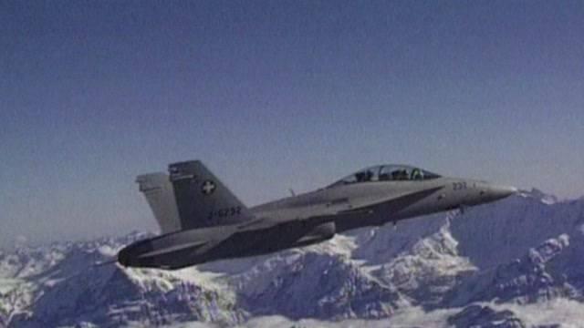 Kampfjet abgestürzt?