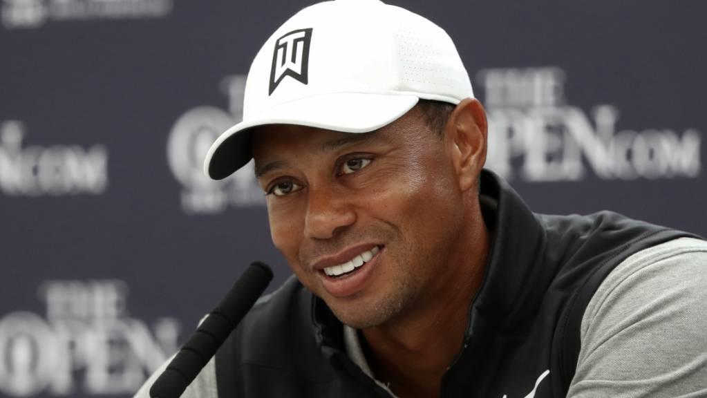 Tiger Woods zu den Olympischen Spielen 2020 in Tokio: «Das ist ein grosses Ziel von mir.»
