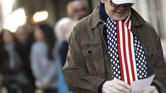 Bei den Midterms im Jahr 2014 hatten zur Halbzeit der zweiten Amtsperiode von Präsident Barack Obama nur 36 Prozent der Wahlberechtigten ihre Stimme abgegeben. (Symbolbild/Archiv)