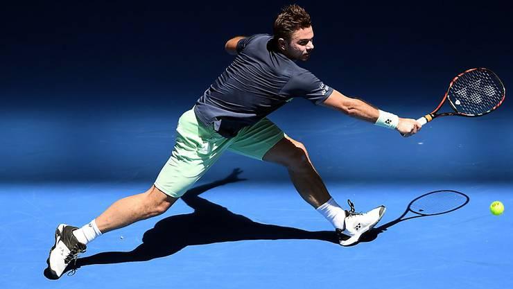 Stan Wawrinka bestritt am Australian Open in Melbourne seine erste Partie auf der Tour seit mehr als einem halben Jahr