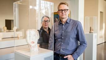 Das Kunsthaus Zürich wird zum Drehort im Hinblick auf die Filminstallation, die das Künstlerpaar für die Biennale in Venedig vorbereitet.Sandra Ardizzone
