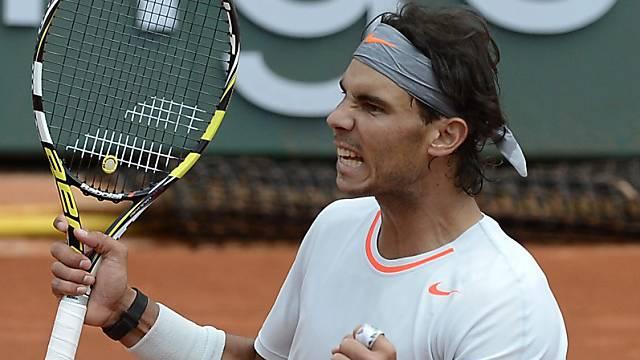 Rafael Nadal musste hart kämpfen für den Erstrundensieg.