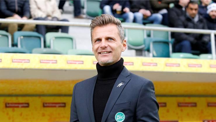 Gut angekommen und aufgenommen in St.Gallen: Sportchef Alain Sutter.Marc Schumacher/freshfocus