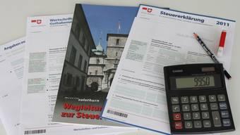 Solothurner zahlen mehr Steuern als in anderen Kantonen. (Symbolbild).