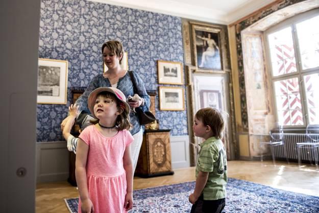 Kinderführung durch das Schloss Waldegg