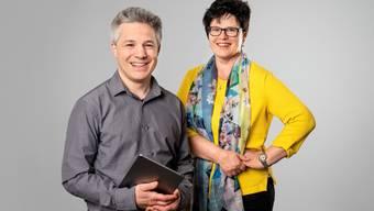 Christoph A. Schiltknecht und Verena Meister übernehmen die Leitung der Kreisschule Thal im Co-Präsidium