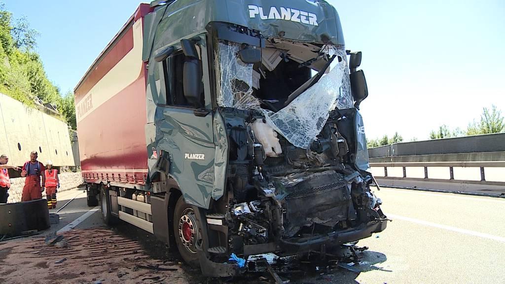 LKW-Unfall bei Egerkingen sorgte für Riesenstau