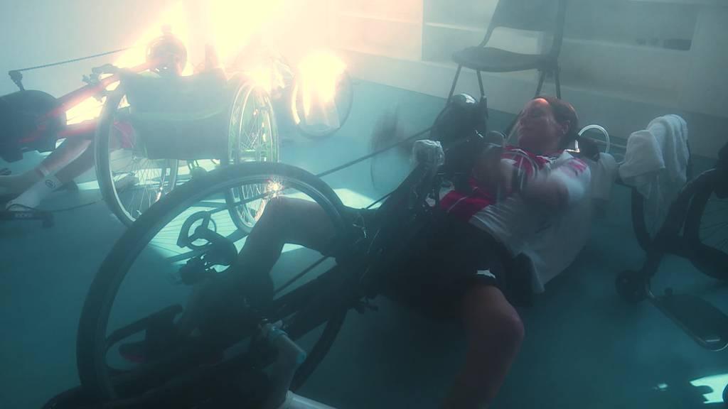 Paralympics: Sandra Graf trainiert in der Hitzekammer
