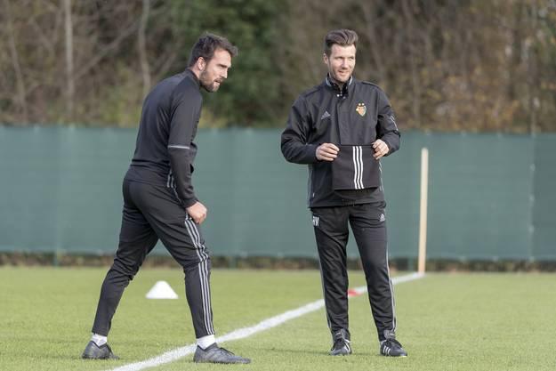 Rund ein Jahr war Matías Delgado Mitglied im Trainerstaff von Raphael Wicky.