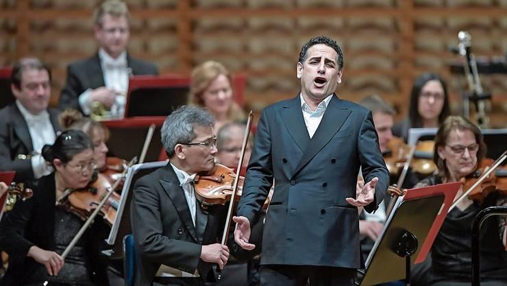 Der Tenor Juan Diego Flórez berührte mit seiner grossartigen Gesangskunst.