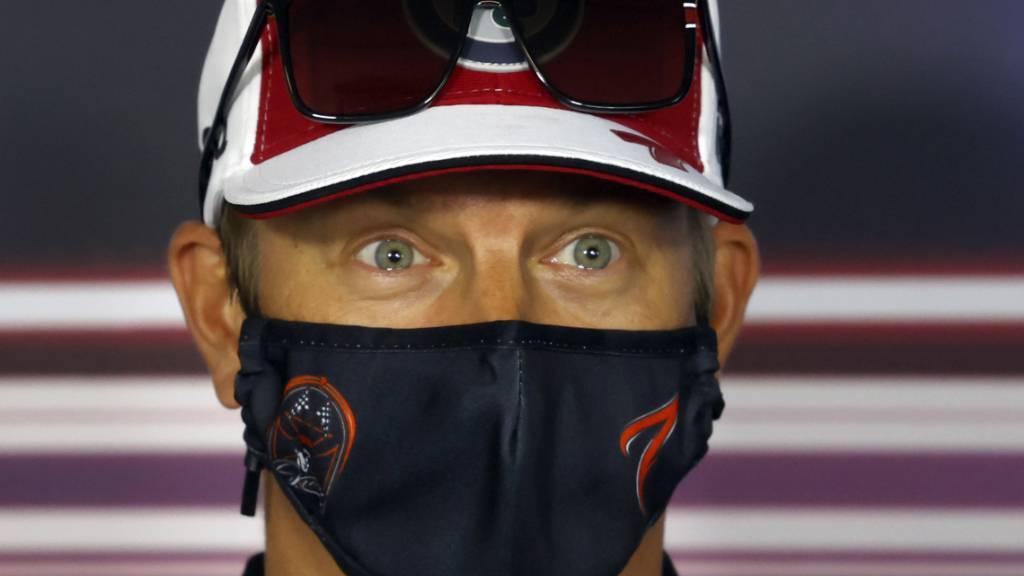 Noch ist ungewiss, ob Kimi Räikkönen auch in der nächsten Saison in der Formel 1 am Start sein wird