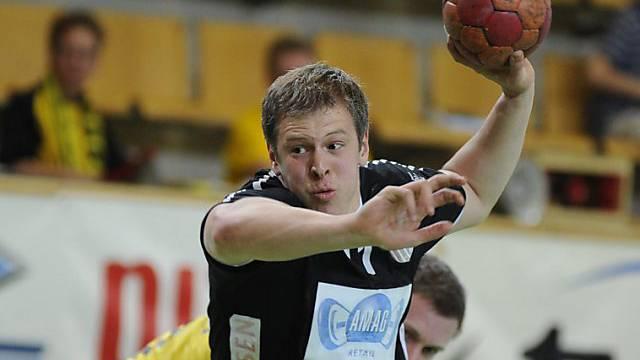 Fünffacher Torschütze für Pfadi Winterthur: Marco Kurth