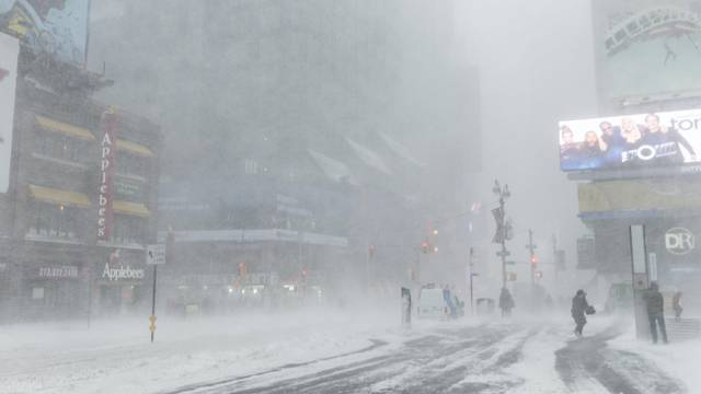 Rekord-Frost in den USA