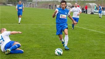 Ahmet Bozova, Torschütze zum 1:0. Jaus