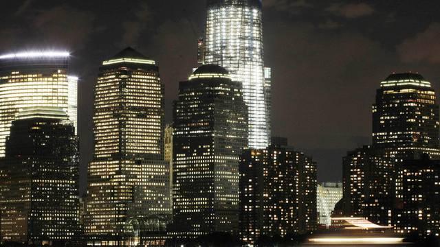 Der Skyscraper, das höchste Gebäude im Bild