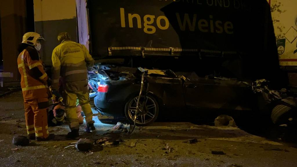 Tödlicher Unfall auf der Raststätte Kölliken-Süd