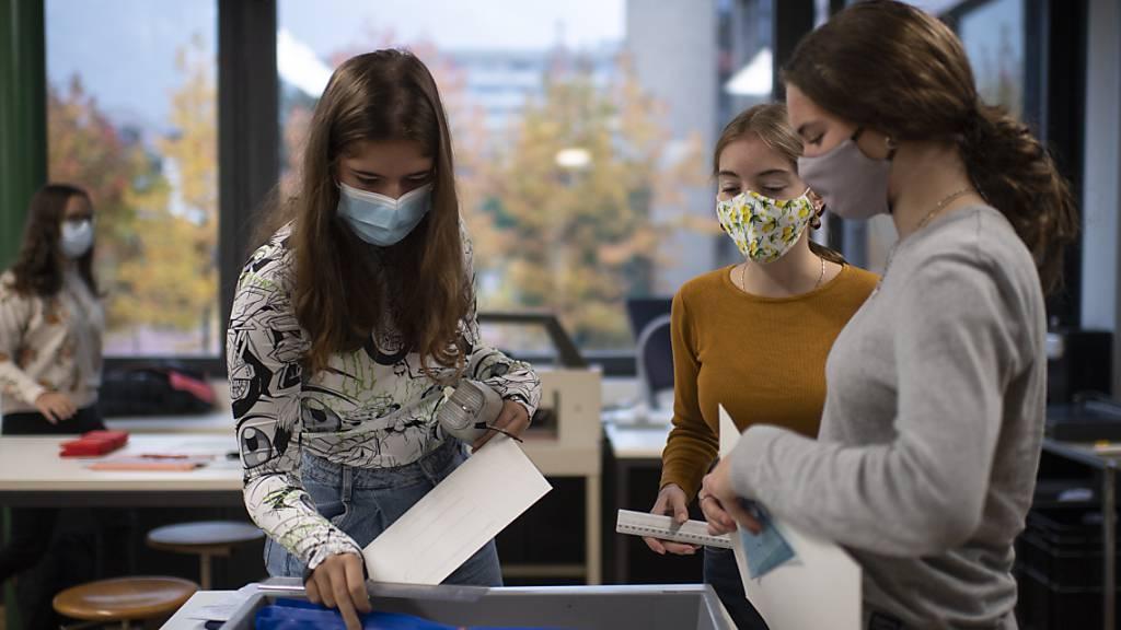 Ab Montag gilt für Primarschüler ab der 5.Klasse Maskenpflicht