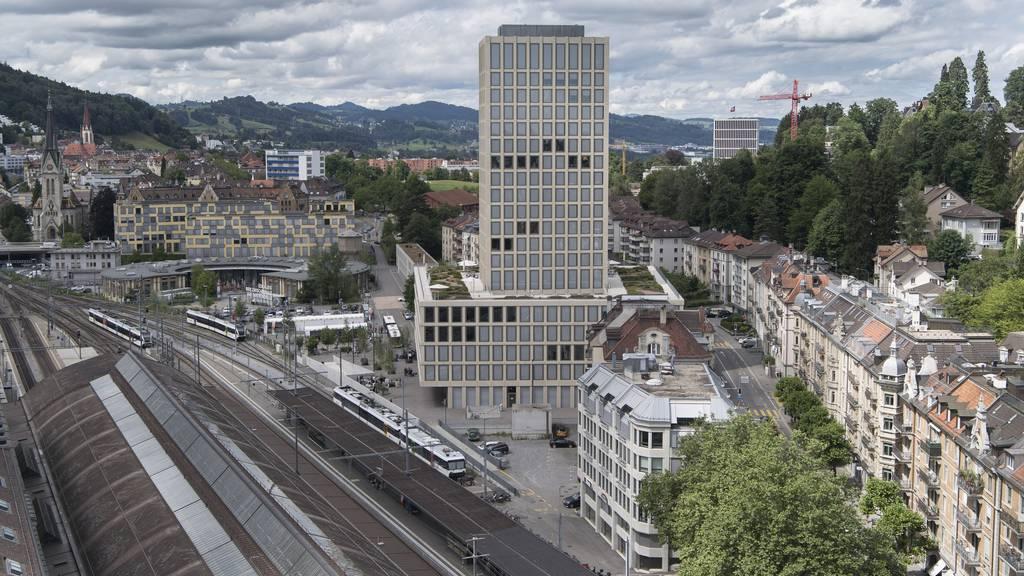Blick auf die Fachhochschule in St.Gallen.