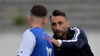 Trainer Mirko Recchiuti arbeitet vorzugsweise mit jungen Spielern.