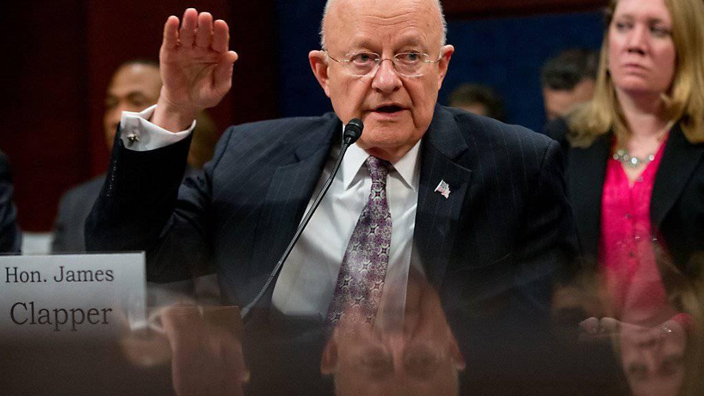 Fast sechs Jahre koordinierte Clapper die Arbeit der US-Geheimdienste - nun trat er von seinem Posten zurück.