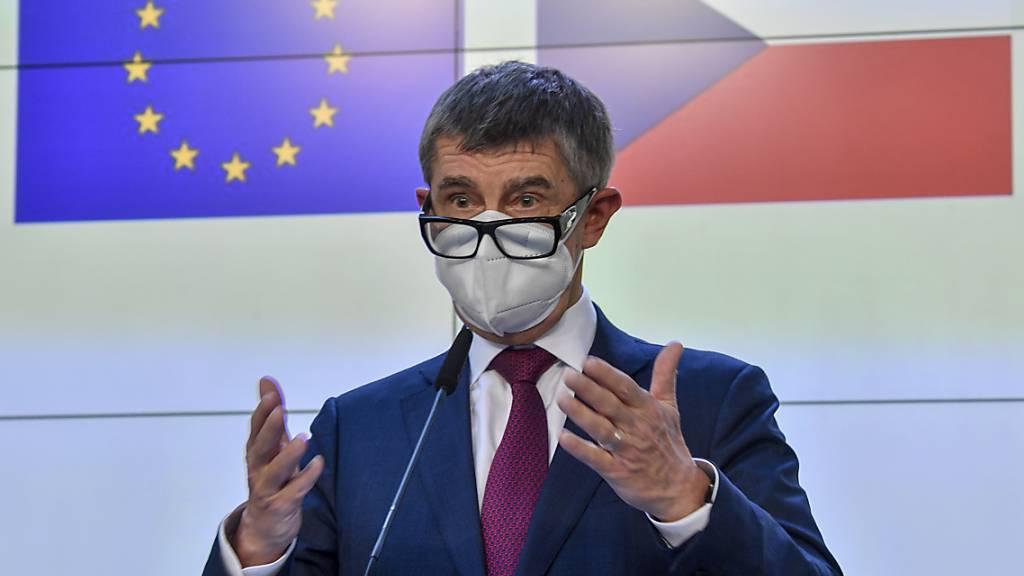 Tschechiens Ministerpr‰sident Andrej Babis. Foto: VÌt ?im·nek/CTK/dpa