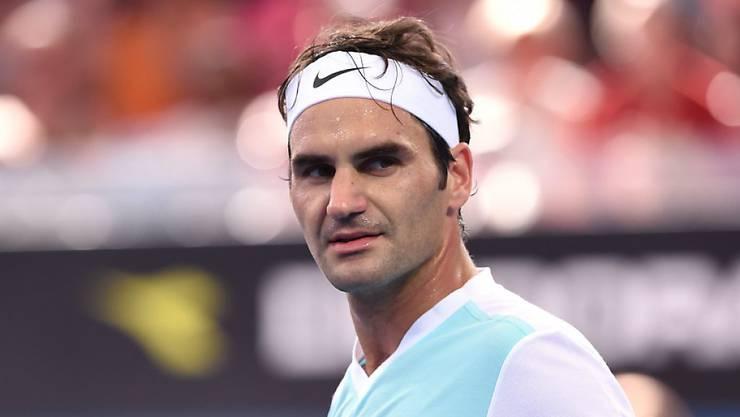 Roger Federer spielt um einen weiteren Titel