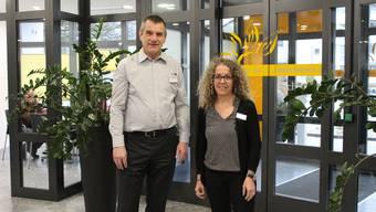 Daniel Aeschlimann (Heimleiter) und Sandra Manz Brand (Pflegedienstleitung) sind heute für das Wohl der Pensionäre in der «Ischimatt» verantwortlich.