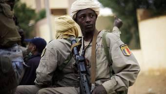 Verlassen das Krisengebiet: Tschadische Soldaten in Mali (Archiv)