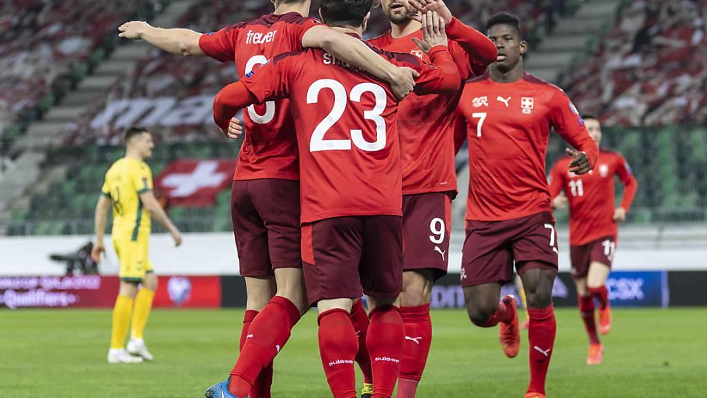 Die Schweizer Fussballer rücken im FIFA-Ranking vor