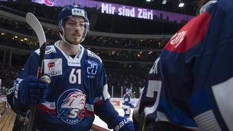 ZSC-Stürmer Fabrice Herzog läuft in den Playoffs zur Hochform auf.