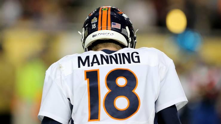 Peyton Manning tritt von der NFL-Bühne ab.
