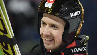Simon Ammann startet zu seinen sechsten Olympischen Spielen