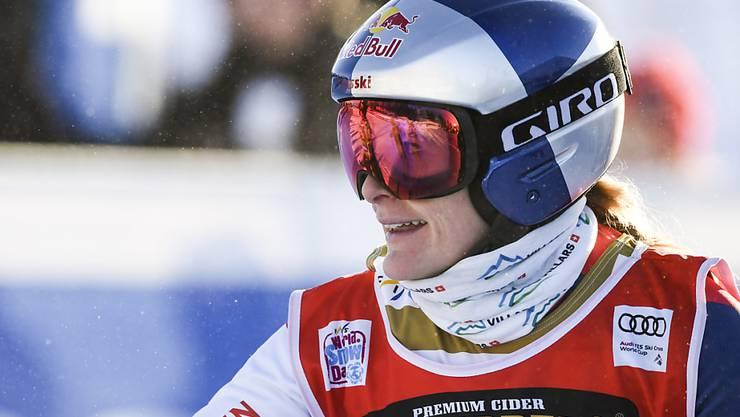 Die Schweizer Skicrosserin Fanny Smith steht nach ihren Saisonsiegen 5 und 6 kurz vor dem Gewinn des Gesamt-Weltcups